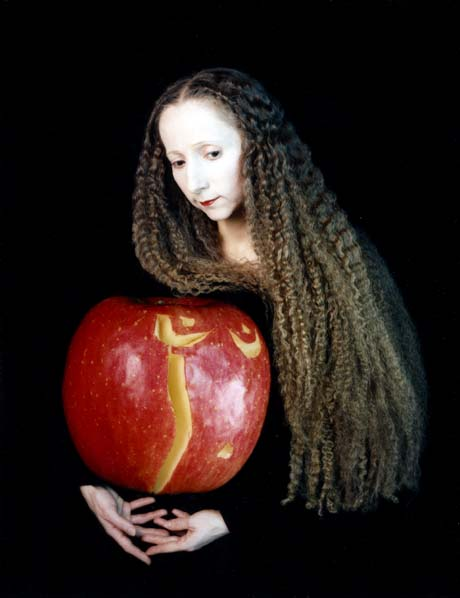 "Gerlovina Gerlovin ""Naked Apple"" C-print"